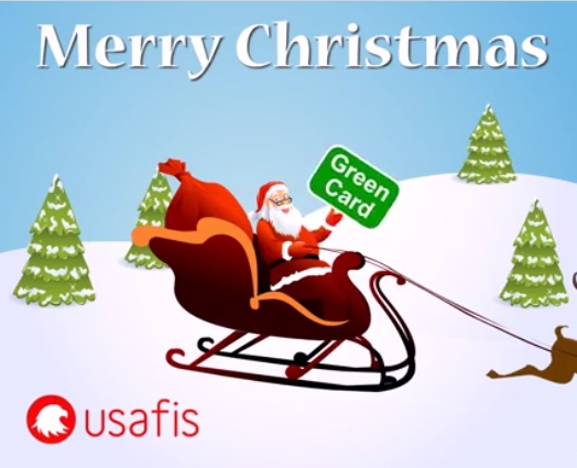 Marry Christmas with USAFIS - Getting Green Card in 2017